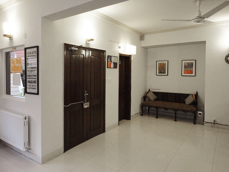 All About Teeth Pediatric Dental Clinic Islamabad Entrance 3
